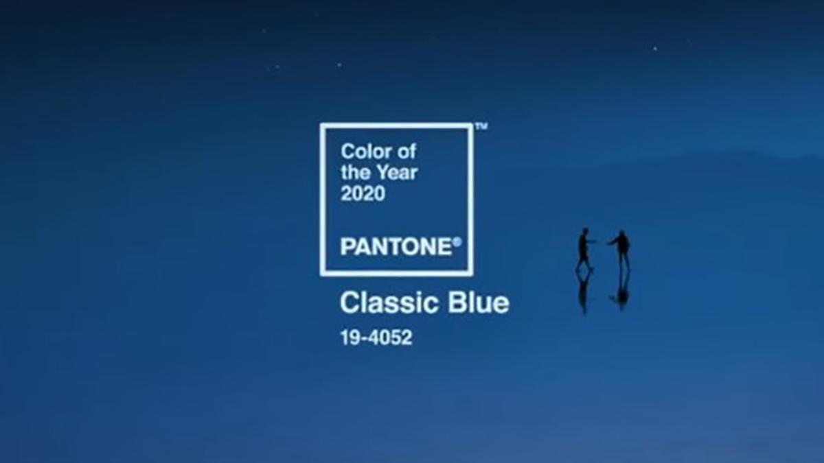 Класическо синьо е цвят на 2020 година