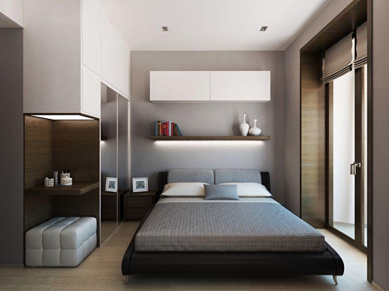 Стил минимализм за малка стая
