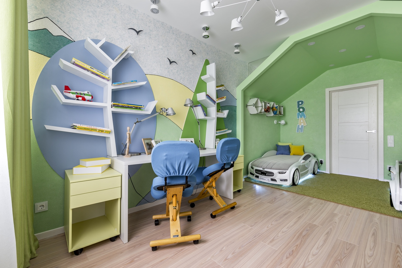 Цветове SILK PLASTER детска стая момче