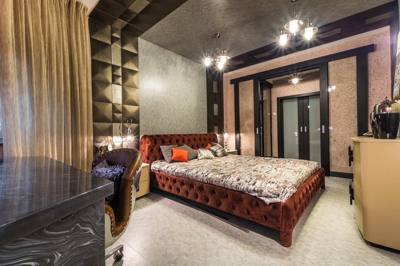 Спалня със SILK PLASTER копринена мазилка